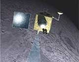 India discovers water on moon