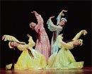 The dancing beauties
