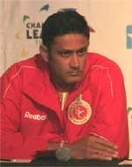 Fielding lapses cost us dear, says Kumble