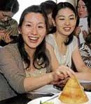 Japanese explore South Indian cuisine