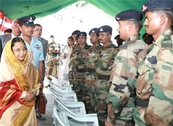 Troops should maintain high degree of preparedness: President