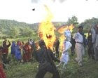 Maoists lay siege to polling booths