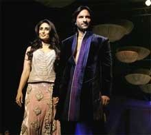 Walking the ramp with Saif was special: Kareena
