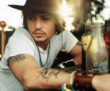 Johnny Depp turns rocker