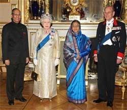 Patil invites British Queen to India