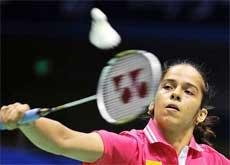 Saina enters second round of French Super Series