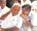 Deadlock on, Yeddy camp meets top BJP leaders