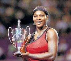 Serena crowned champion
