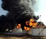 Fire continues to rage in two IOC tankers