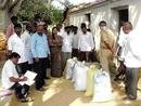 Hoarded rice recovered in Bangarpet