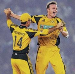 Aussies back on level terms with 24-run victory