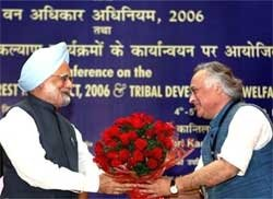 Tribals areas can't be developed under shadow of gun: PM