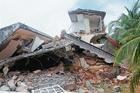 District admn demolishes 6 illegal houses on beach