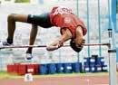 Harshith sets new mark in high jump