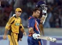 We couldn't have come so close without Sachin's knock: Dhoni