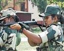 Who's guarding the border? It's Basanti!