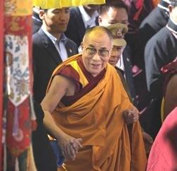 Dalai Lama arrives in Tawang