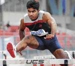 Amith clinches 110 hurdles gold