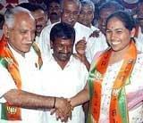 Shobha Karandlaje quits