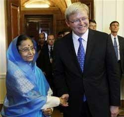 Australian PM in India: Talks on trade ties, attacks on students