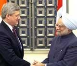Harper confident of Indo-Canadian nuke deal