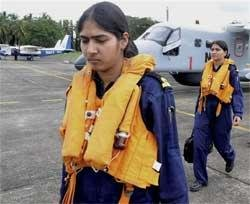 Indian Navy to commission its first women navigators