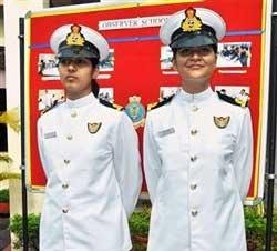 First women navigators commissioned in Indian Navy