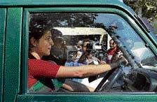 Priyanka is 'driver' in Amethi