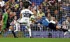 Madrid pip Santander, leap to top