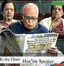 Advani tries to show he is the face of Hindutva