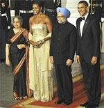 Flavour of India at Obama's first State Dinner