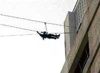 Cops, commandos retrace terror route