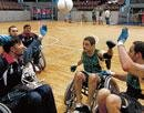 A sport specially for quadriplegics