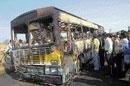 School bus catches fire, students escape unhurt