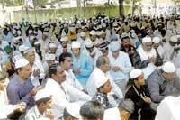 Mass prayers mark Bakrid