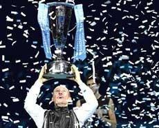Davydenko claims crown