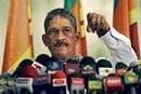 Fonseka  joins prez poll race