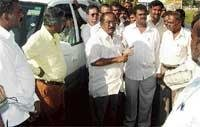 MLA, DC express ire over unfinished road project