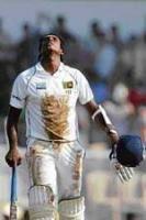 Heartbreak for Lanka's Mathews