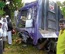 Three killed in tractor-lorry collision