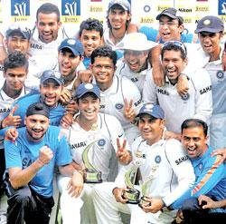 Team India on top of the world