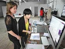 Now, sample sales board the online bandwagon