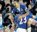 Everton strike late to draw Hotspur