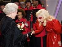 Lady Gaga drops suicide act for the Queen