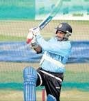 Geared up for battle: Dhoni