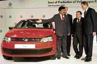 Volkswagen rolls out  Polo