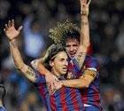 Ibrahimovic nets Barca winner