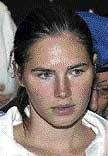 Amanda Knox  says she is 'scared' in jail
