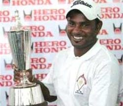 Muniyappa named Asian Tour Rookie of the Year