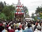 Brahma rathotsava observed with pomp and gaiety in Bangarpet